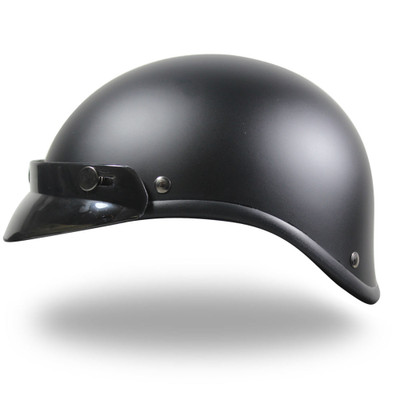 Flat Black - Gladiator Style Novelty Headwear with Visor