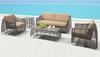 Trek Beach Sofa Gray & Beige