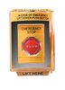Commercial Grade Emergency Stop Button: Ash shown with yellow protective cover and red stop button.