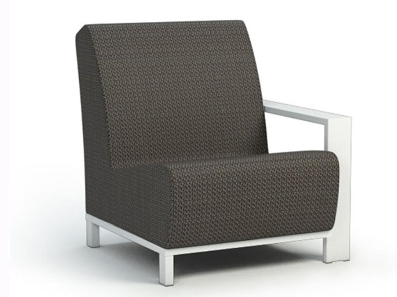 Grace Air Aluminum Left Arm Chat Chair