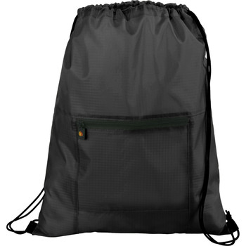 Black BRIGHTtravels Packable Travel and Sport Cinch