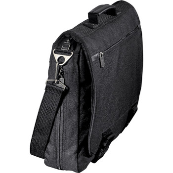 Black Northwest Expandable Messenger Bag | Hardgoods.ca