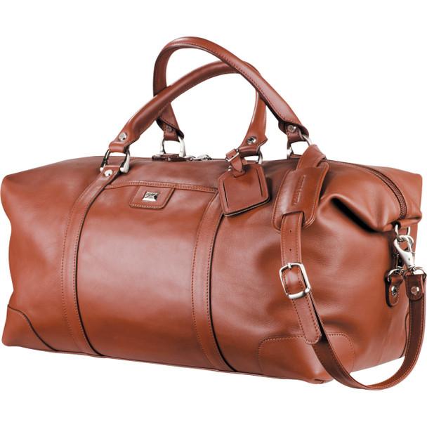 Cutter & Buck® Leather Weekender Duffel