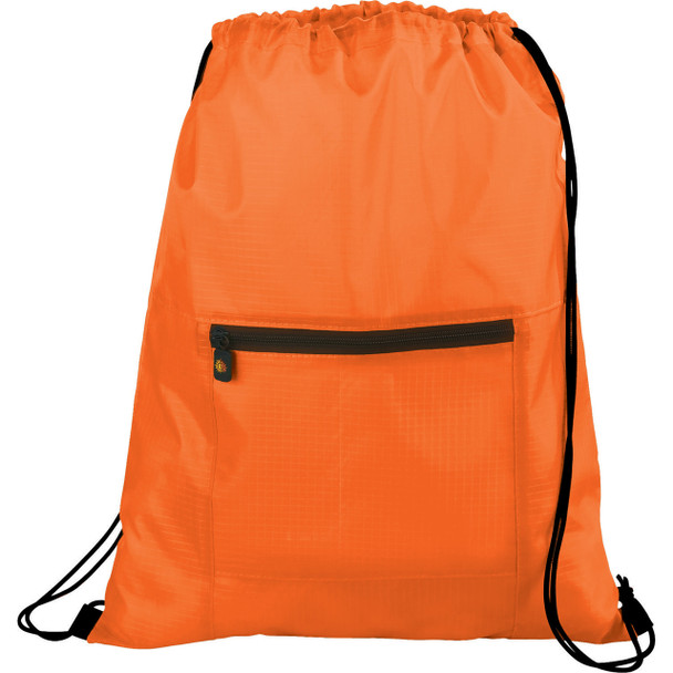 Orange BRIGHTtravels Packable Travel and Sport Cinch
