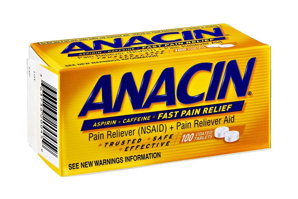 Anacin Fast Pain Relief 100 CT