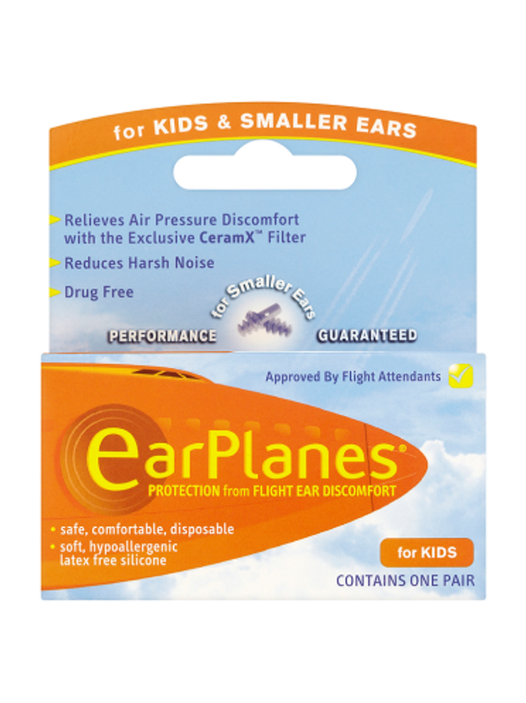 Ear Planes Children's Ear Plugs, Disposable - 1 Pair