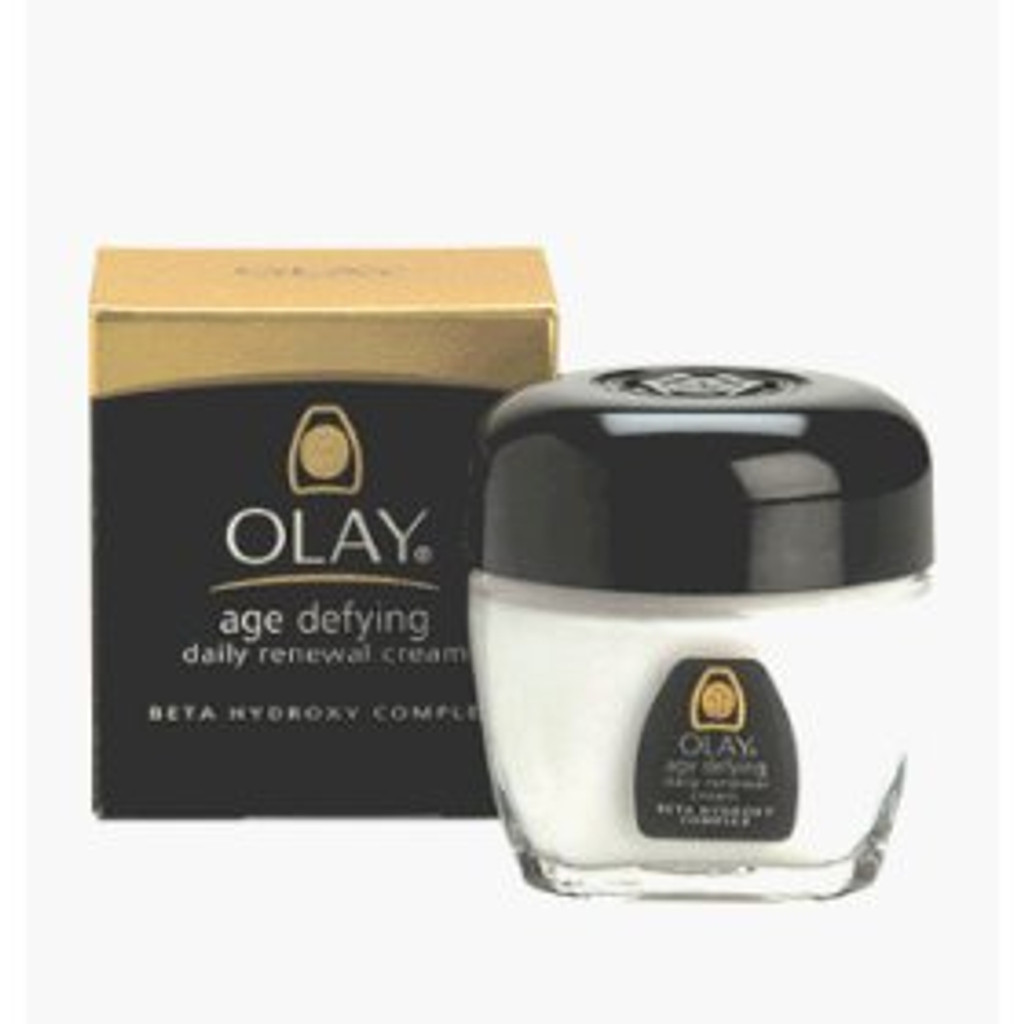 Oil Of Olay Age Defying Daily Renewal Cream 2 Oz