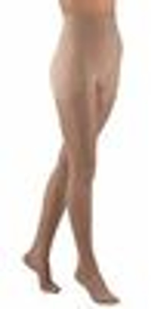 Activa Complements Sheer Closed Toe Pantyhose 20-30 Compression