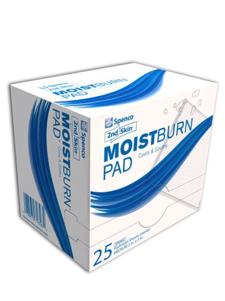 2nd Skin Moist Burn Pad Medium 4ct