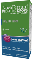NovaFerrum Liquid Iron Pediatric Drops 120 ml