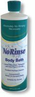 No Rinse Body Bath - 16 oz
