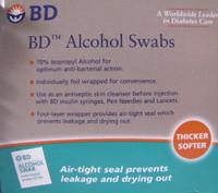 BD Alcohol Swabs