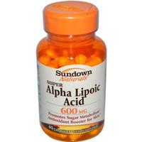 ALPHA LIPOIC ACID 600MG CAP 60CT SUNDOWN