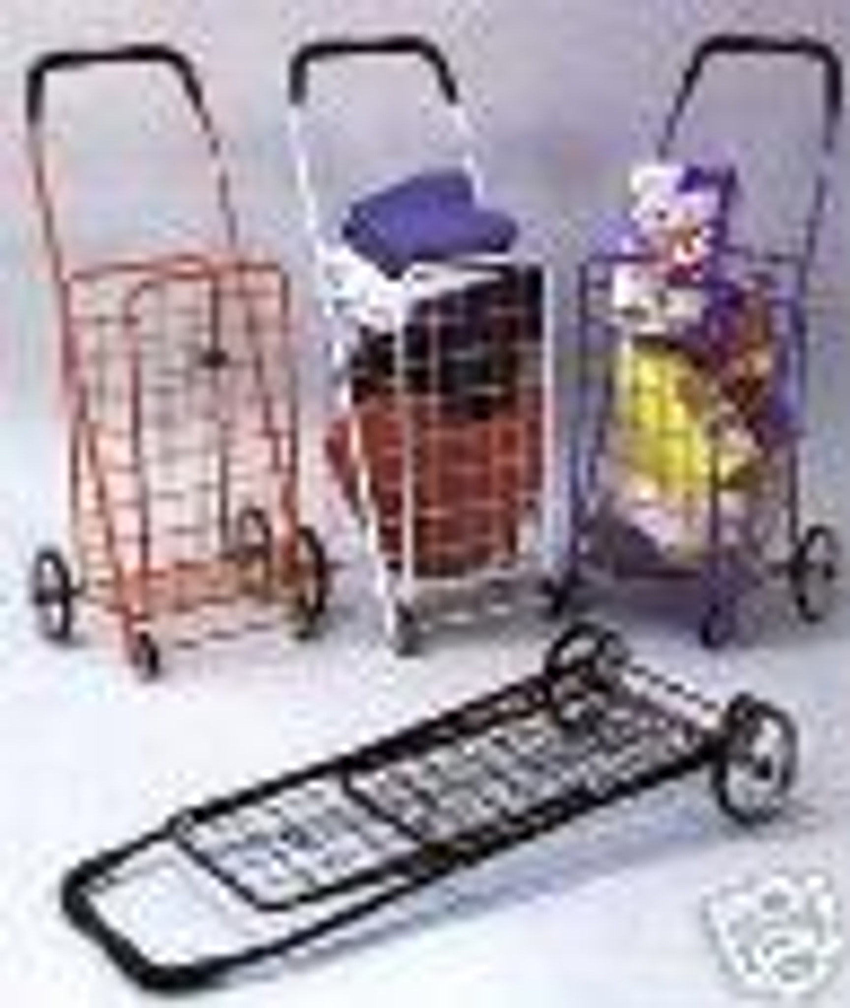 folding shopping cart for carrying laundry grocery. Black Bedroom Furniture Sets. Home Design Ideas
