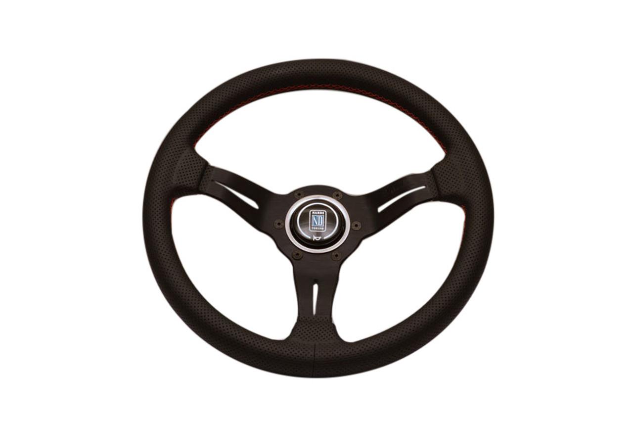 Nardi Rally Line 330mm Deep Corn Leather Wheel Enjuku