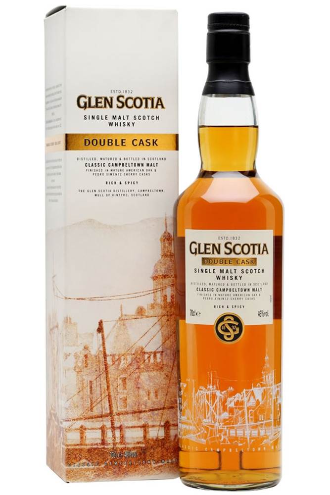 Glen Scotia Double Cask Singe Malt Scotch Whisky