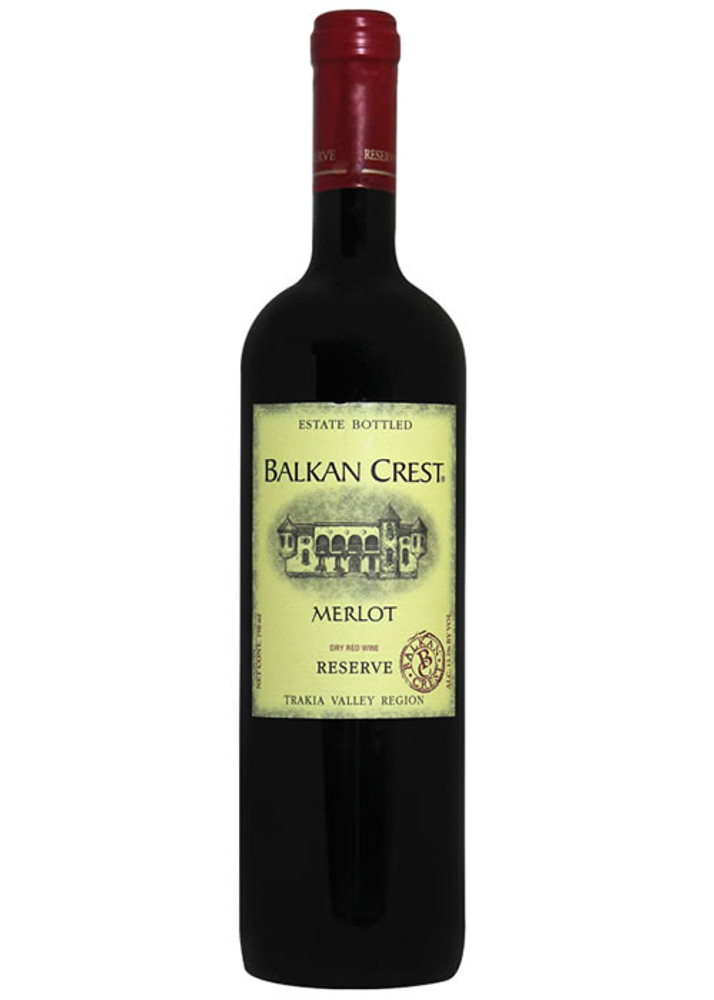 Balkan Crest Merlot