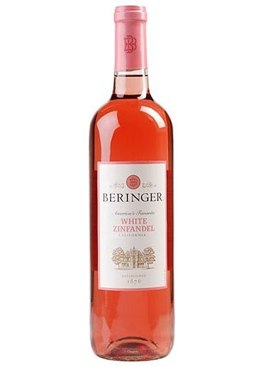 Beringer California Collection White Zinfandel