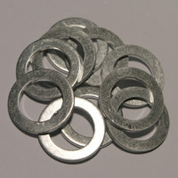 Aluminium Oil Drain Sump Plug Washer for Honda,  Rover,  Land Rover and MG vehicles - 10 pack