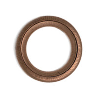 Copper Compression Washer 14x 22 x 2 to DIN7603C replaces Peugeot/Citroen 0313.27 - shown without sump plug