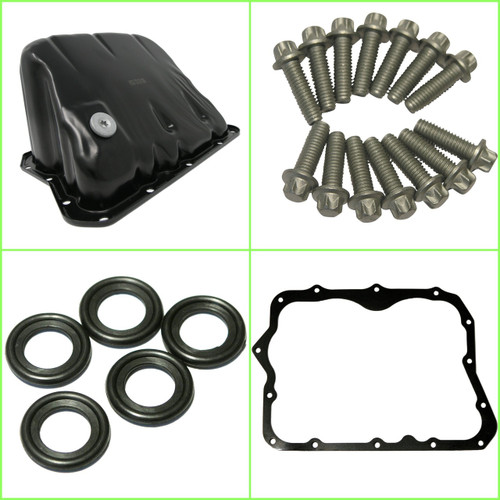 Sump Kit including Sump with Oil Drain Plug,  14 Sump Bolts, Gasket & Sump Washers for future oil changes.