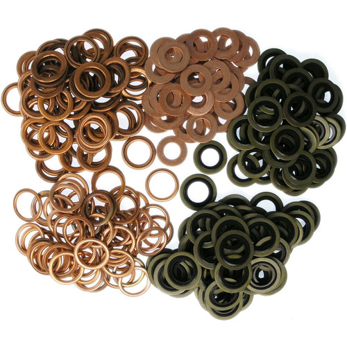 Peugeot Citroen Engine - 250 Oil Sump Washer Assortment Workshop Pack -  SWAP4L