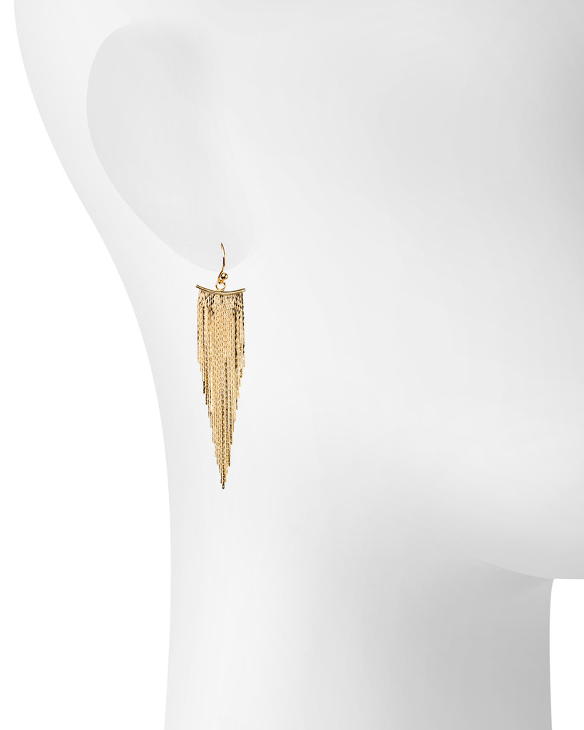 Yellow Gold Plated Shown on Ear