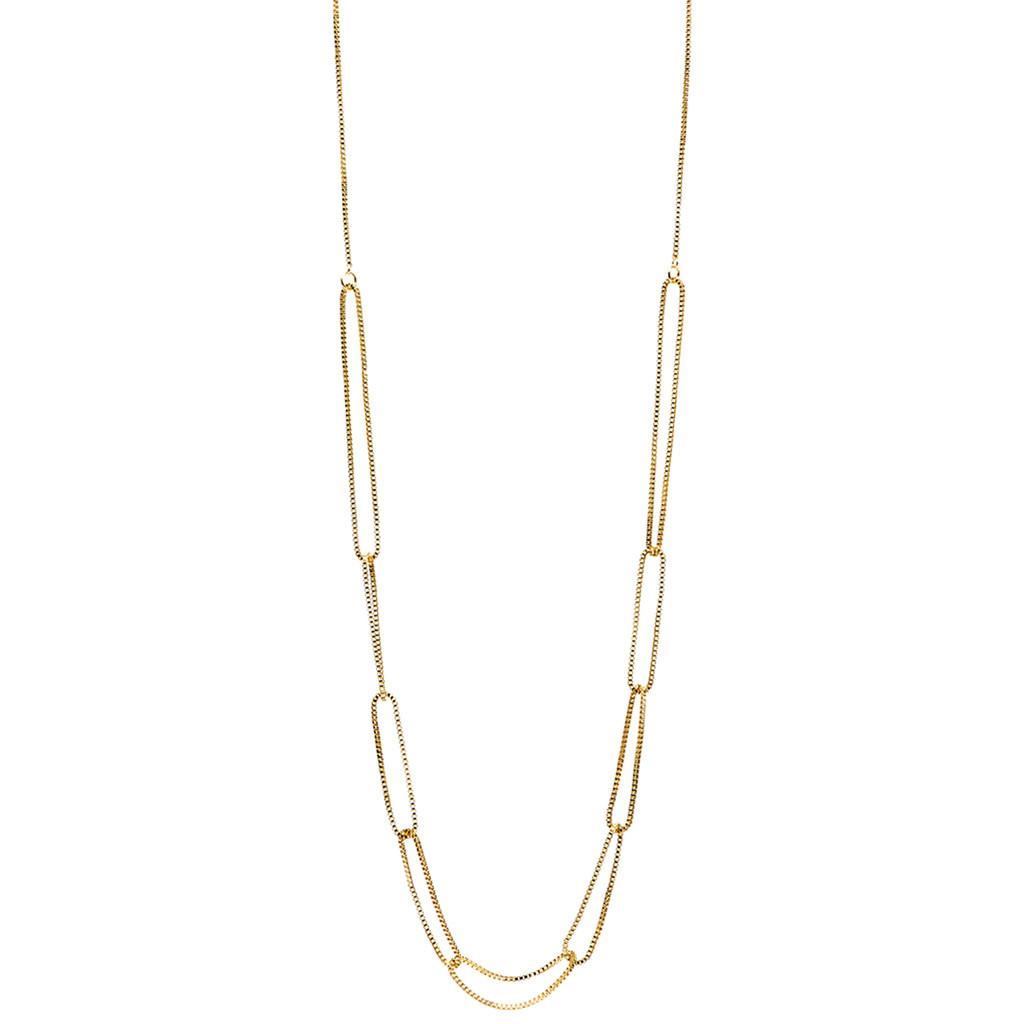 Lisa Freede Bella Necklace in Metallic Gold ynRjZV4E