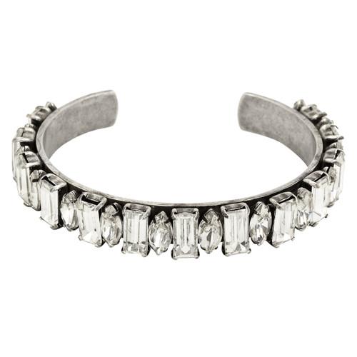 Lisa Freede Bardot Bracelet in Metallic Silver T48IH