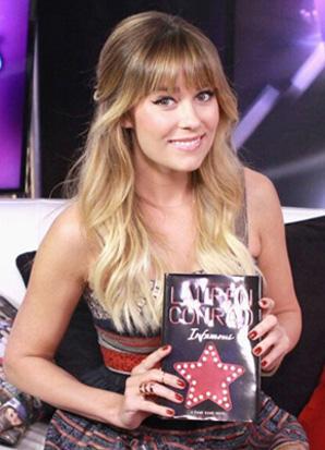 Lauren Conrad wearing the Lisa Freede Solid Brooklyn Ring