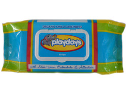 playdays organic baby wipes - hypoallergenic