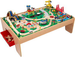 kidkraft waterfall train table