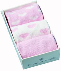 heart baby socks