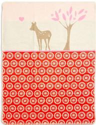 david fussenegger red bambi blanket
