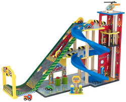 kidkraft mega ramp racing set 63267