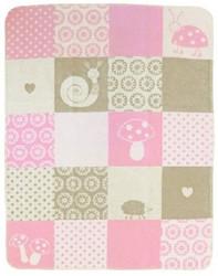 david fussenegger pink forest girls cotton baby blanket