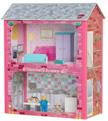 plum camden wooden dollhouse