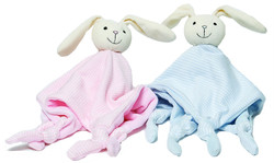 emotion and kids pink and blue stripe bunny dou dou