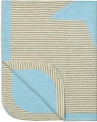 david fussenegger blue stars and grey blanket 6265-21