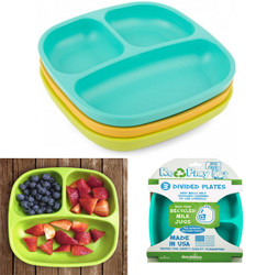 re-play eco kids plates