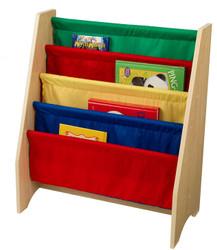 KidKraft Sling Bookshelf - Primary Colours