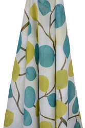 emotion and kids leaves and blossoms muslin wrap