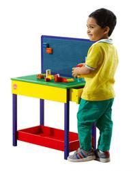 Plum Build-It Wooden Construction Table