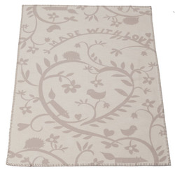 David Fussenegger Made With Love Blanket Lena - Organic Cotton