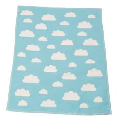 David Fussenegger Finn Blanket - Blue Clouds