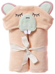 Breganwood Organics Kids Hooded Towel - Woodland Collection - Busy Beaver