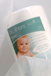 Nature's Child Flushable Wipes & Cloth Nappy Liners - 1 x 200 Roll Bio Liners