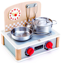 hape wooden cooktop grill toy