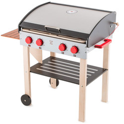 hape gourmet grill wooden playset
