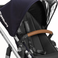 UPPAbaby Leather Bumper Bar Covers - Tan
